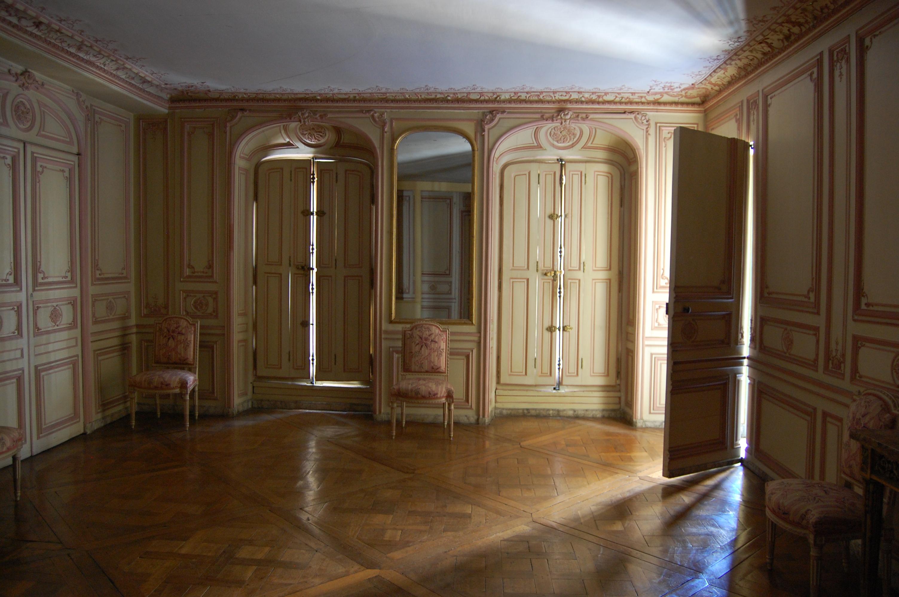 Second étage - Aile centrale - Appartement de Madame du Barry ...