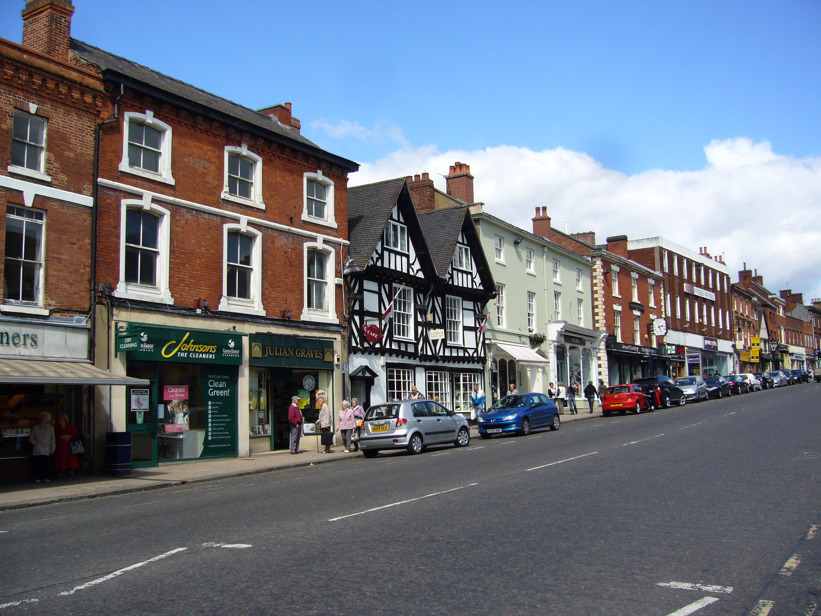 Gay Guide of Ashby de la Zouch - Leicestershire - England.