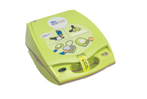 English: Automated external defibrillator