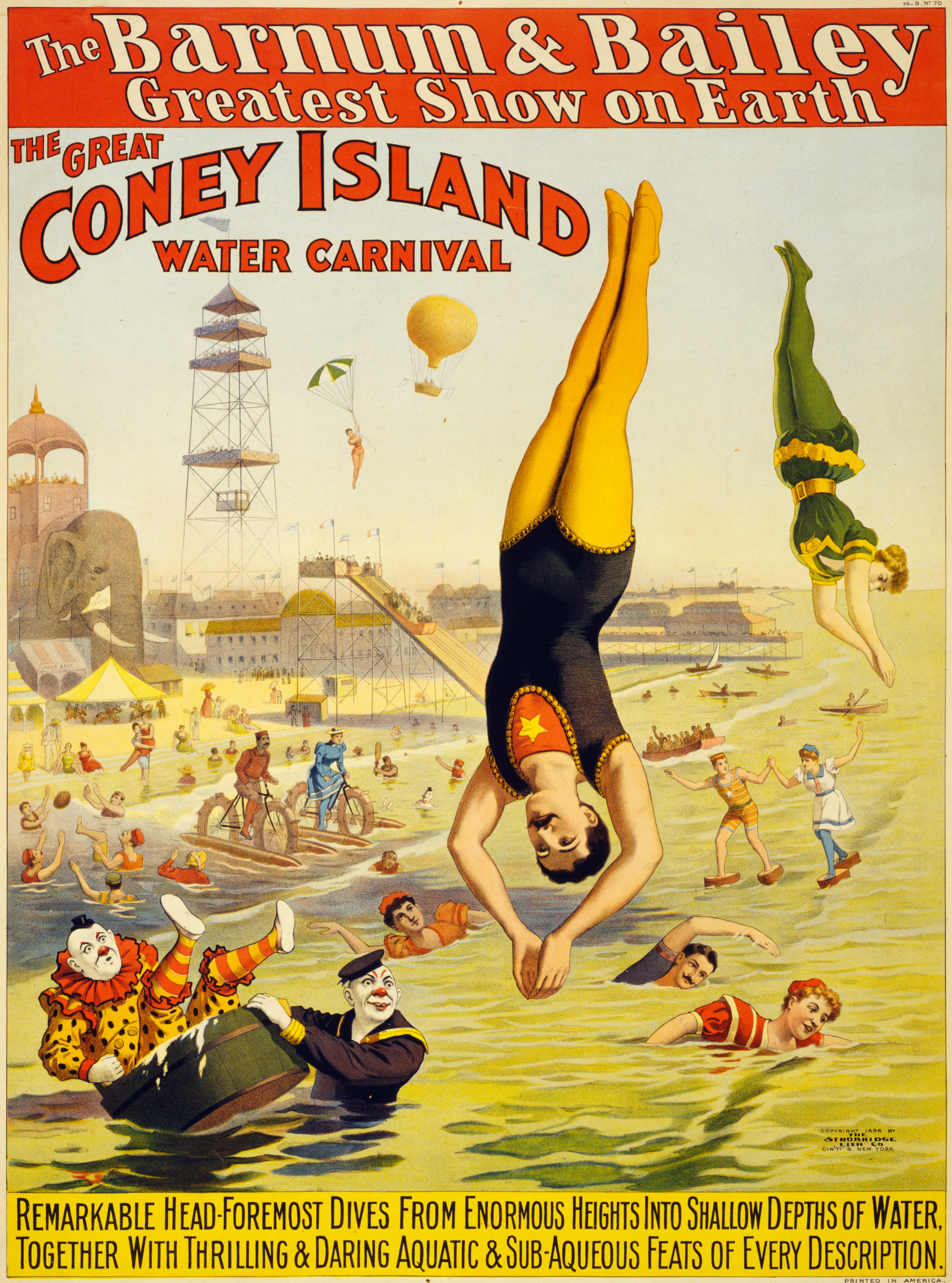file barnum bailey coney island water carnival wikimedia commons. Black Bedroom Furniture Sets. Home Design Ideas