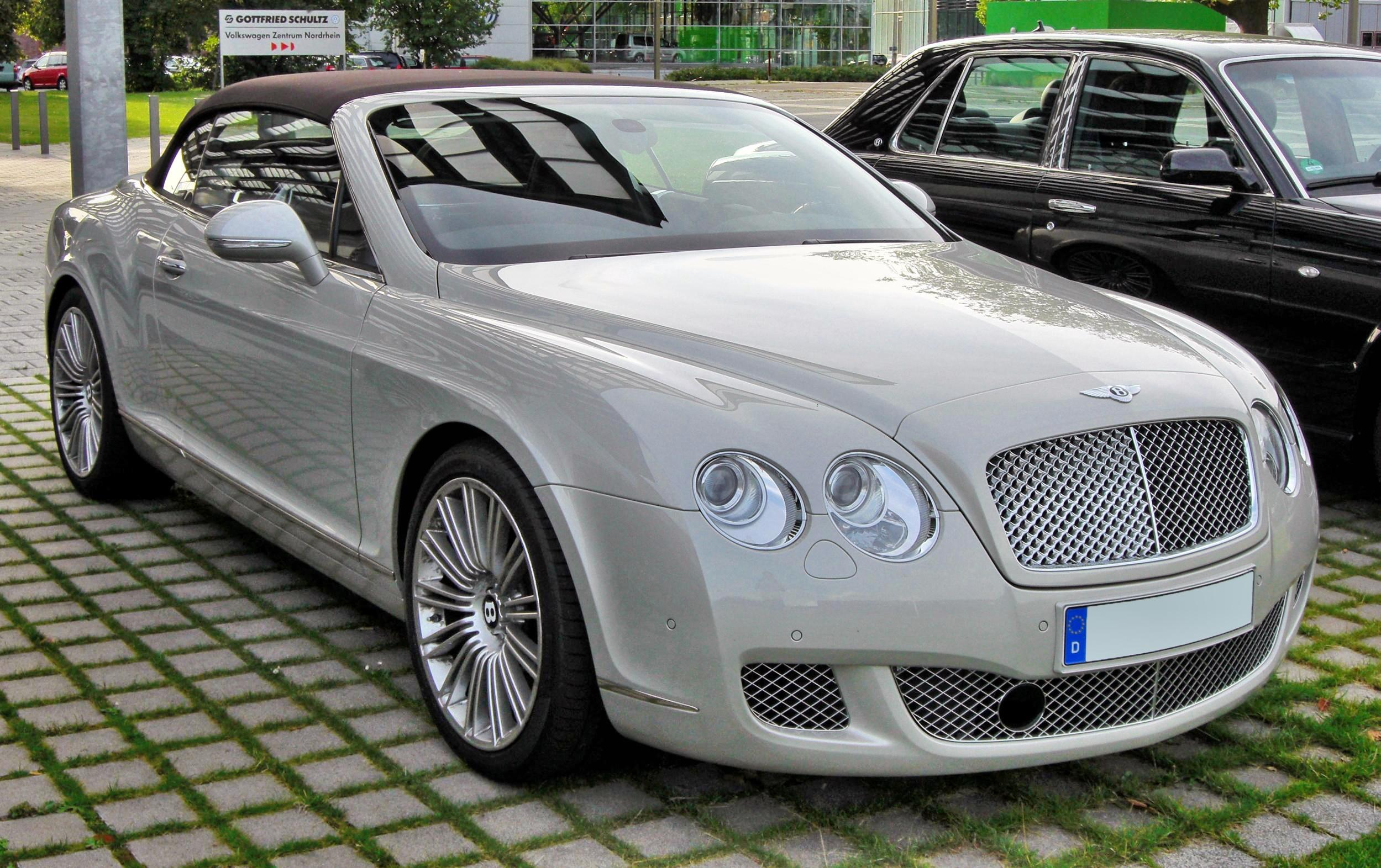 Bestand:Bentley Continental GTC Speed 20090720 front.JPG - Wikipedia