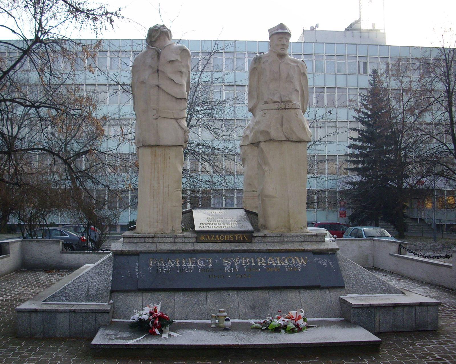 File Biala Podlaska pomnik Sybirakow 081231 jpg   -> Kuchnia Orientalna Biala Podlaska Brzeska