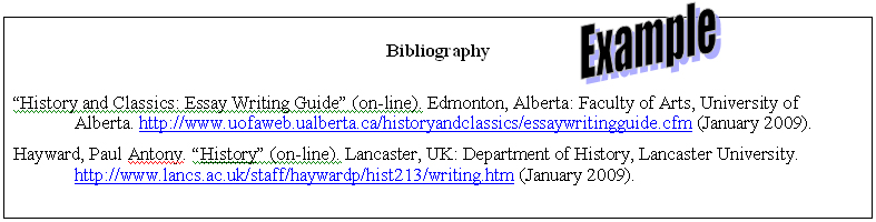 D1 Clarity: Annotated Bibliography Examples - Doc Brackin