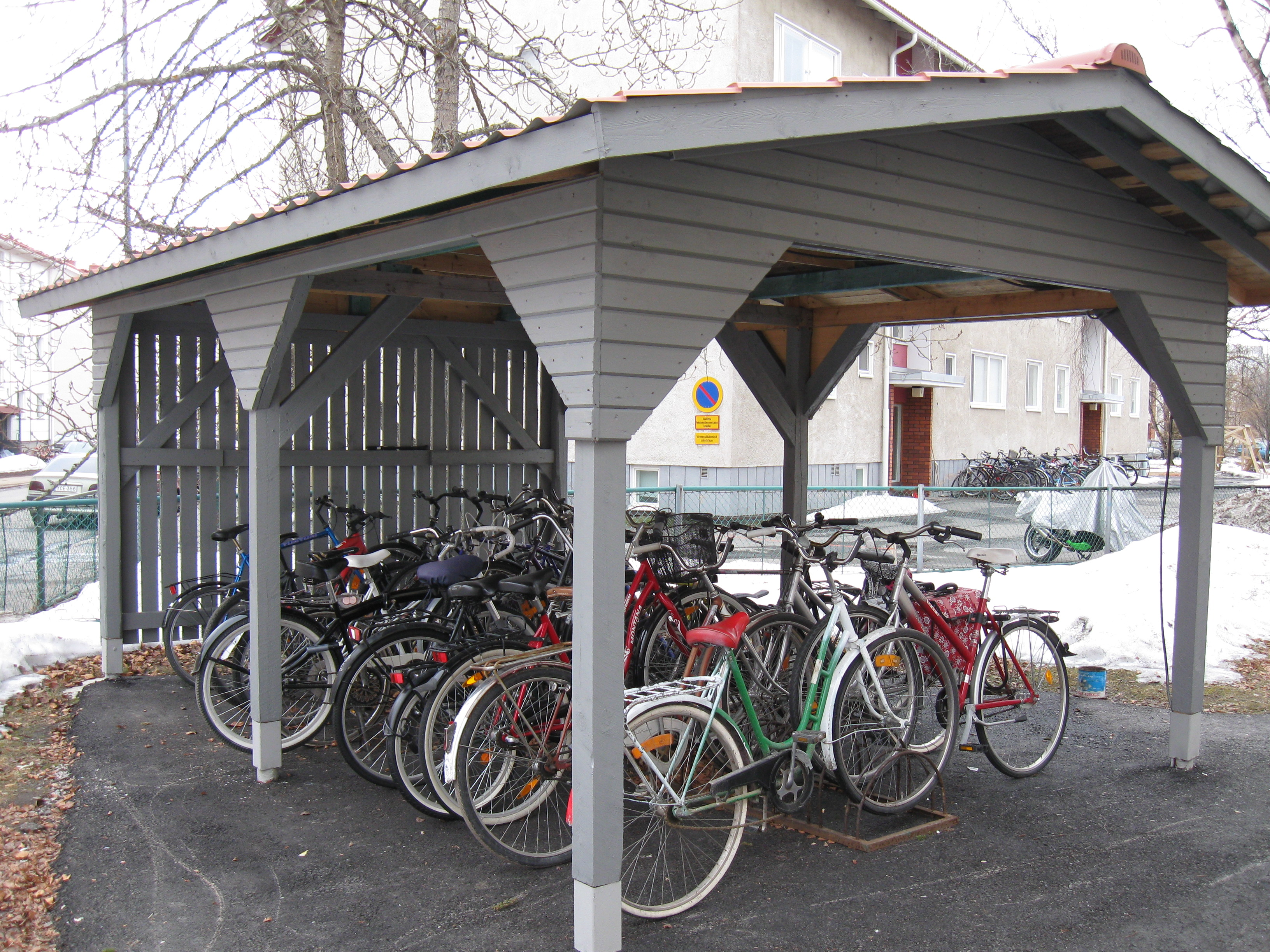 File Bicycle Shed Jpg Wikimedia Commons