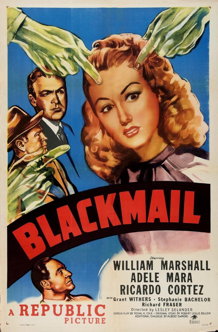 Blackmail (1947 film) - Wikipedia