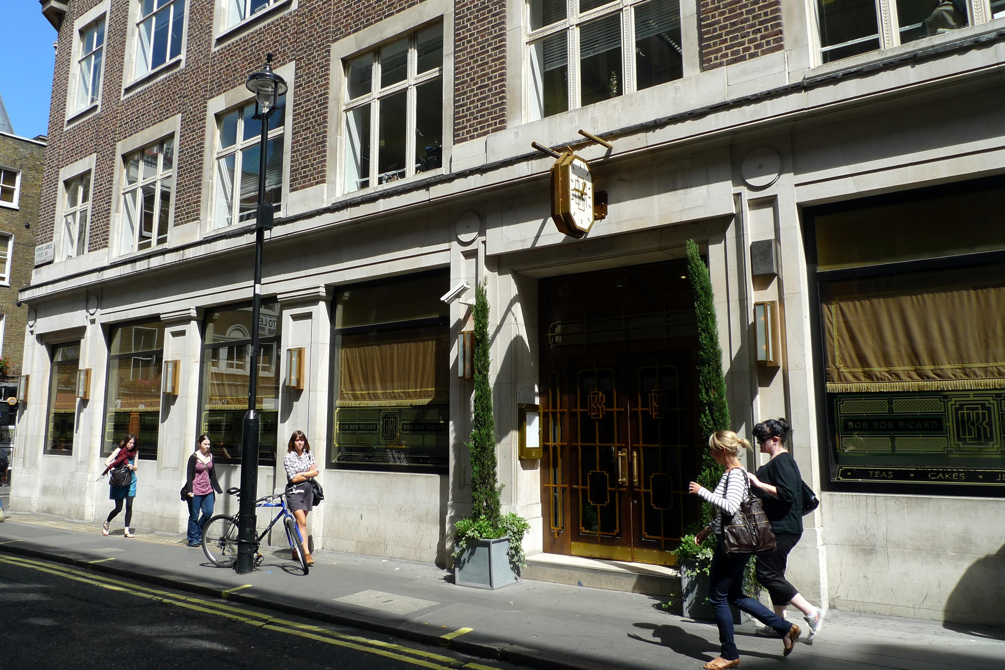 Bob Bob Ricard, Soho, London