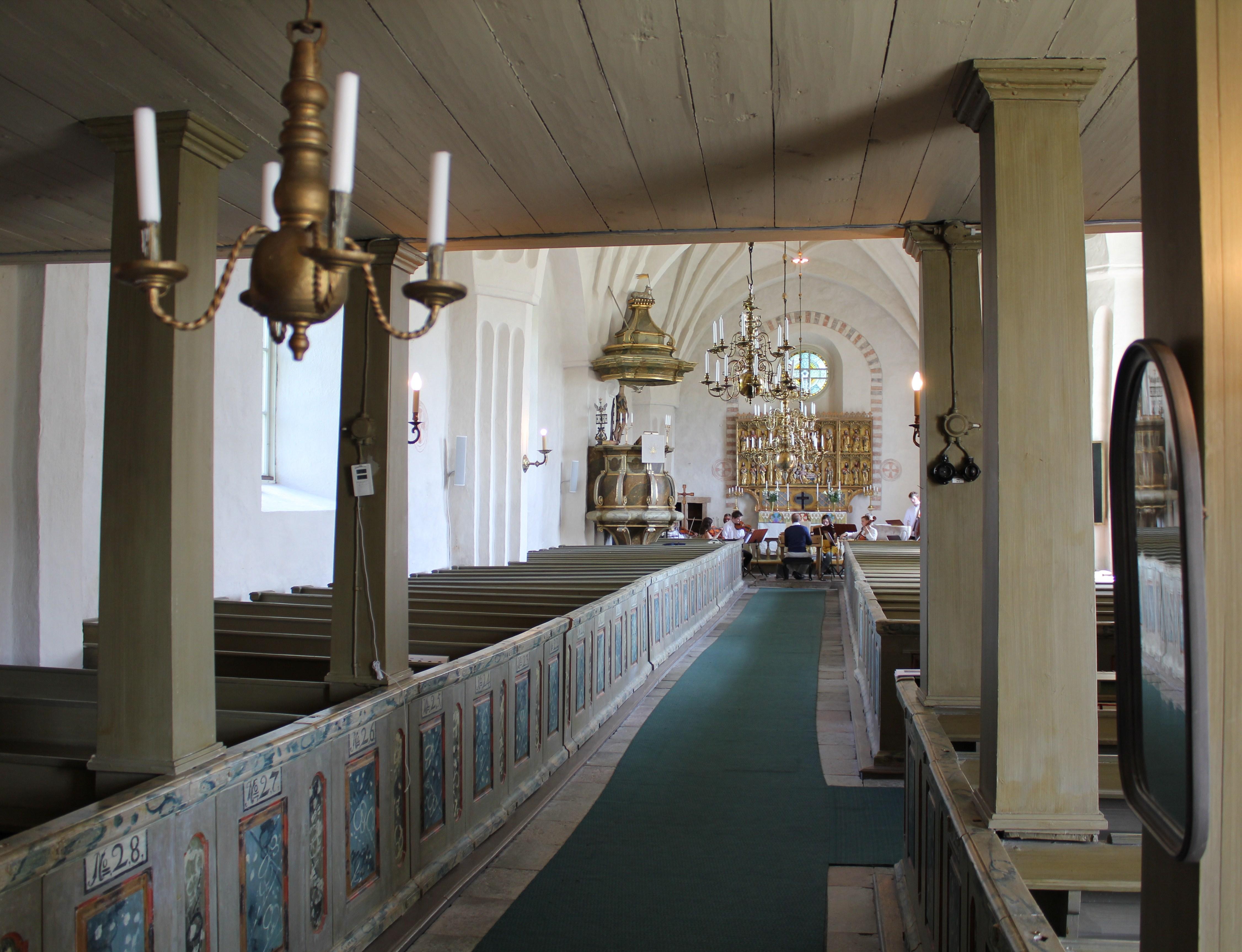 Ornamenterad vindskiva, Boglsa kyrka, Boglsa socken