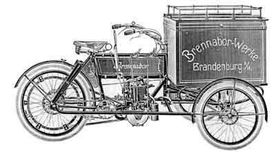 Brennabor Dreirad 1905