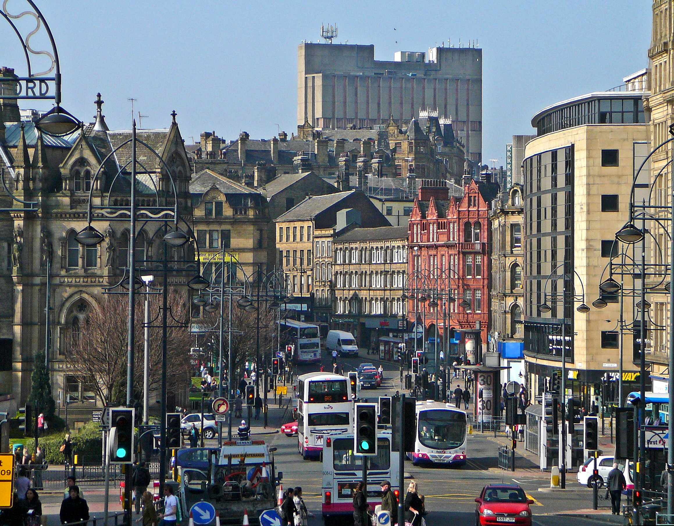 file bridge street and sunbridge road bradford jpg wikimedia commons