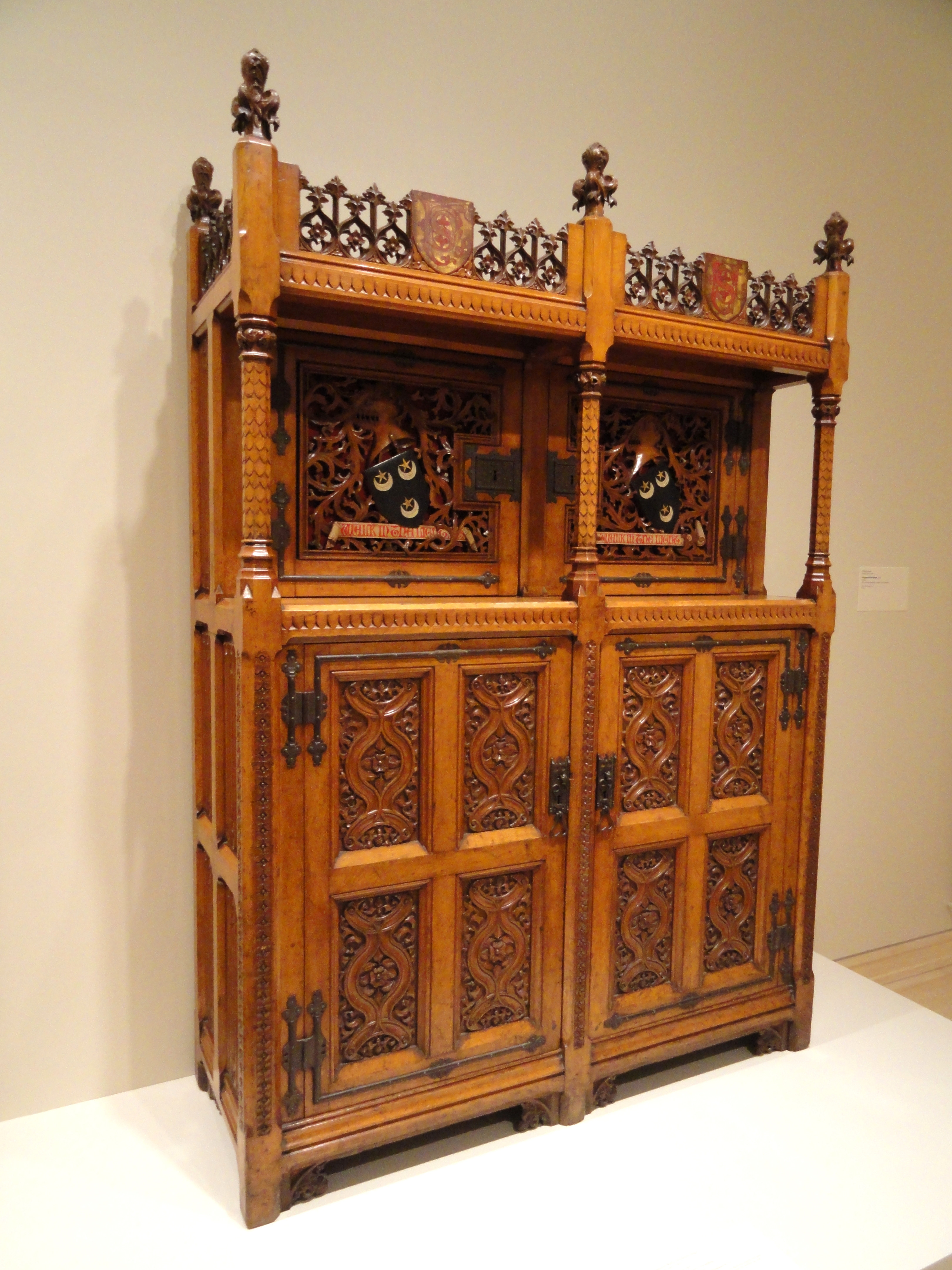 File:Cabinet, Augustus Welby Northmore Pugin ...