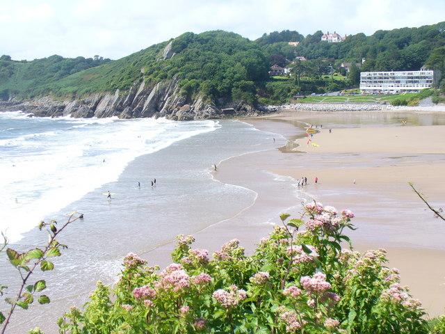 Caswell Bay from the East - geograph.org.uk - 1480380