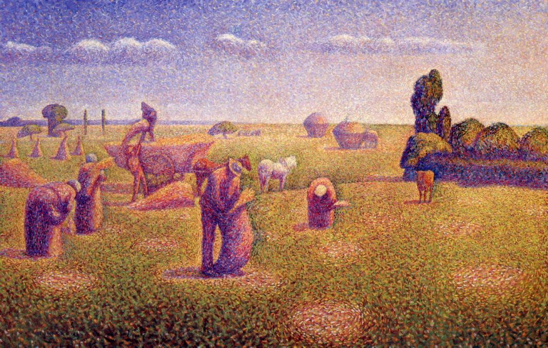 Image result for The Harvest Charles Angrand