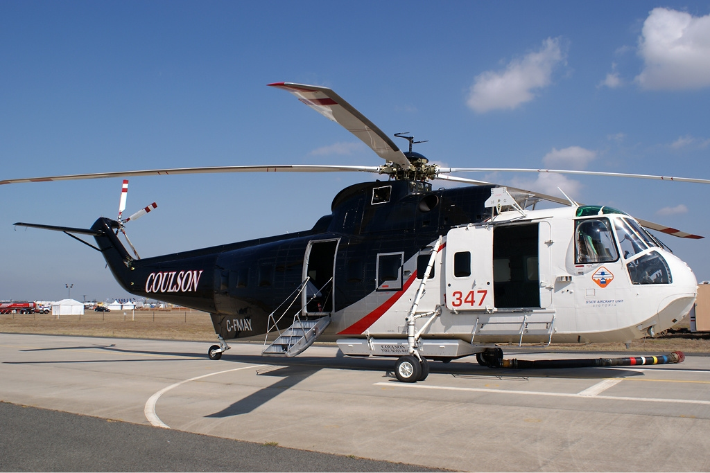 Elicottero S 61 : File coulson aircraft sikorsky s n avalon vabre g