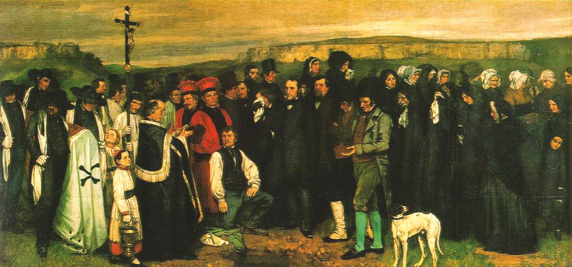 Courbet, Un enterrement à Ornans.jpg