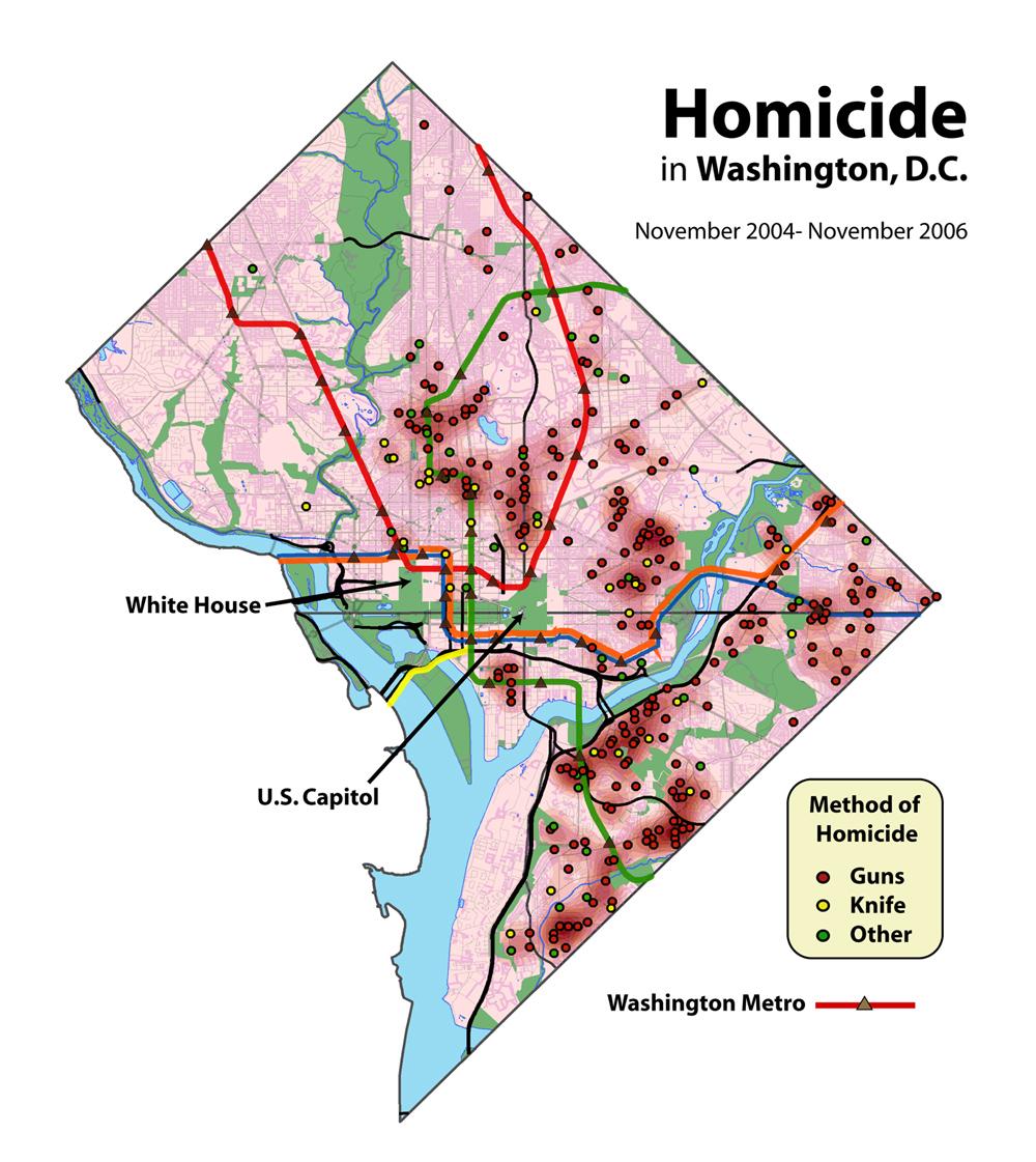 Crime Mapping Wikipedia - Washington dc gis map