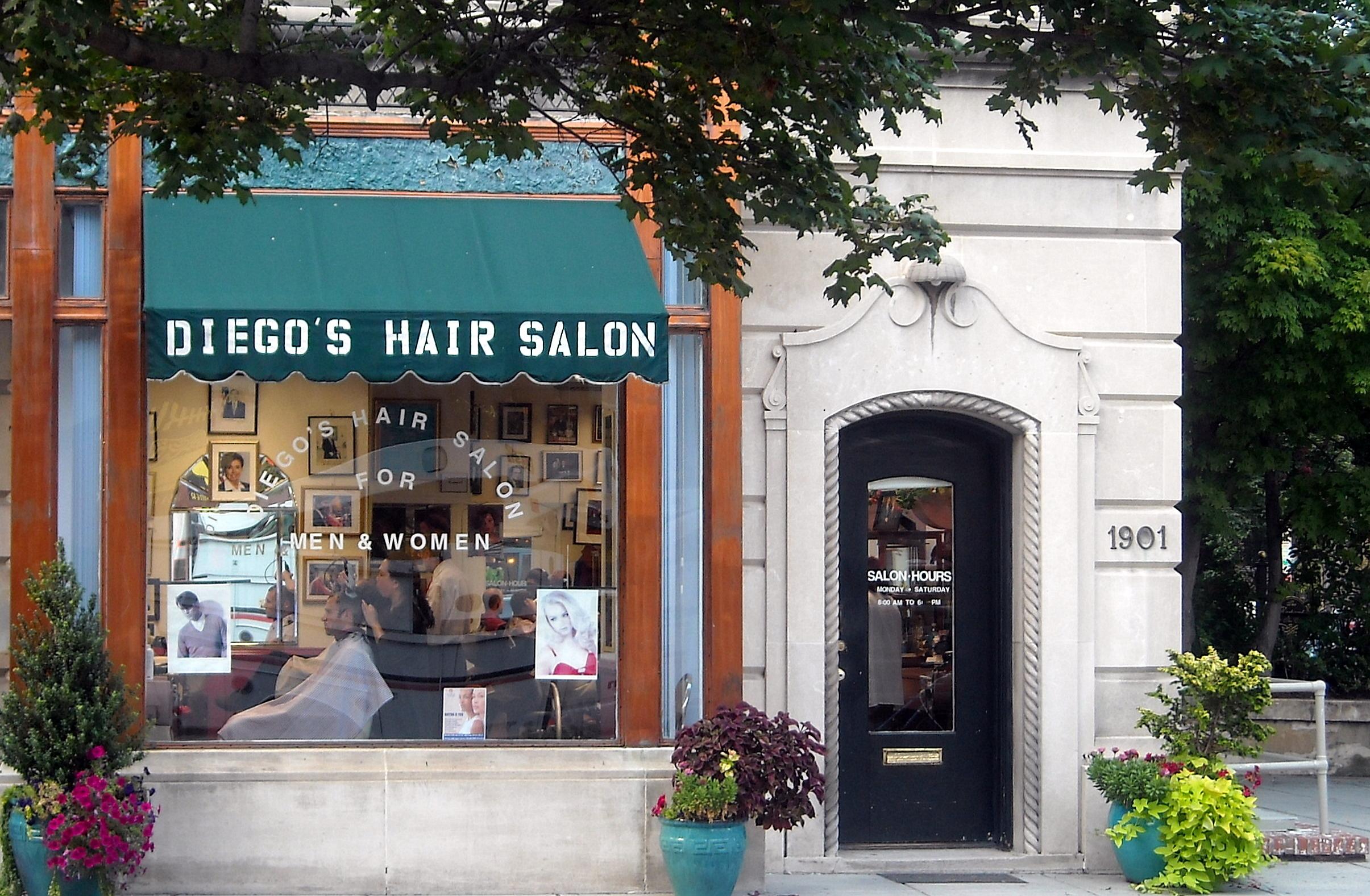 Hair Parlor : File:Diegos Hair Salon.jpg - Wikimedia Commons