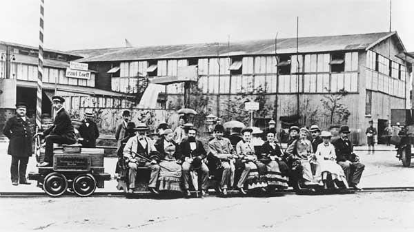 Die Geschichte des elektrischen Antriebs von Schienenfahrzeugen EElokSiemens