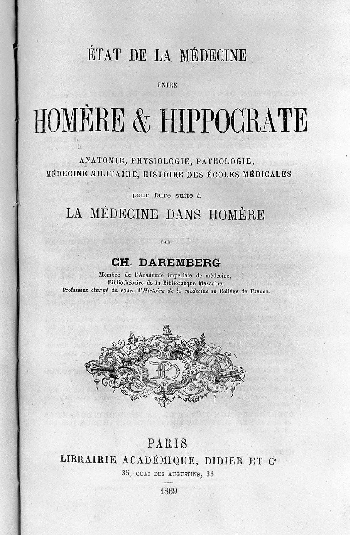 File:Etat de la medince entre Homere et Hippocrate, by Daremberg ...