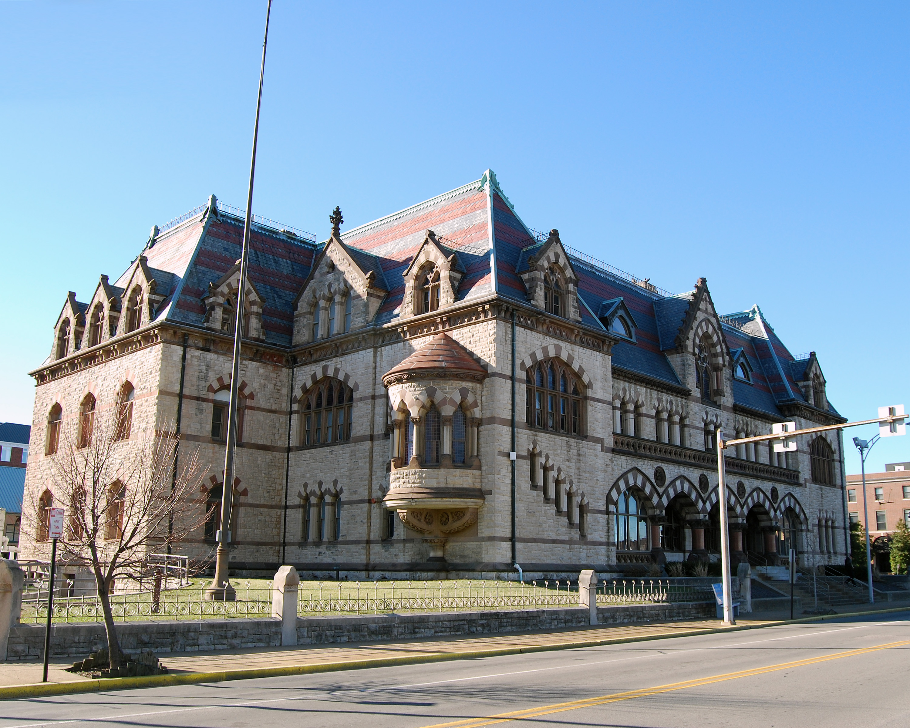 File:Evansville Indiana - old post office.jpg - Wikimedia ...