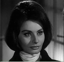 Cropped screenshot of Sophia Loren from the fi...