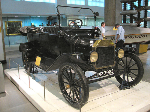 Model T Ford at London Science Museum