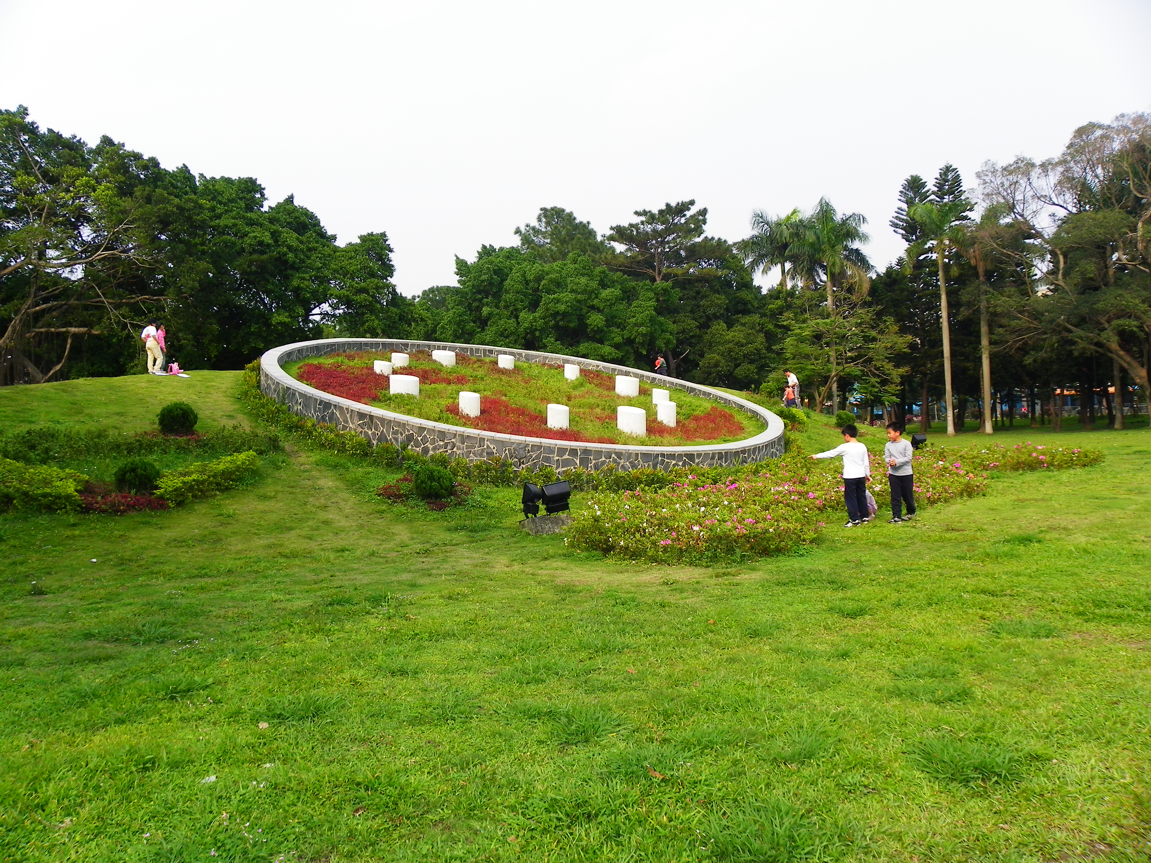 File Former Flower Clock Of Youth Park