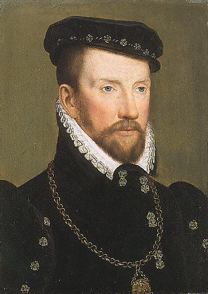 Vers 1565 par François Clouet, Musée d'art de Saint-Louis.