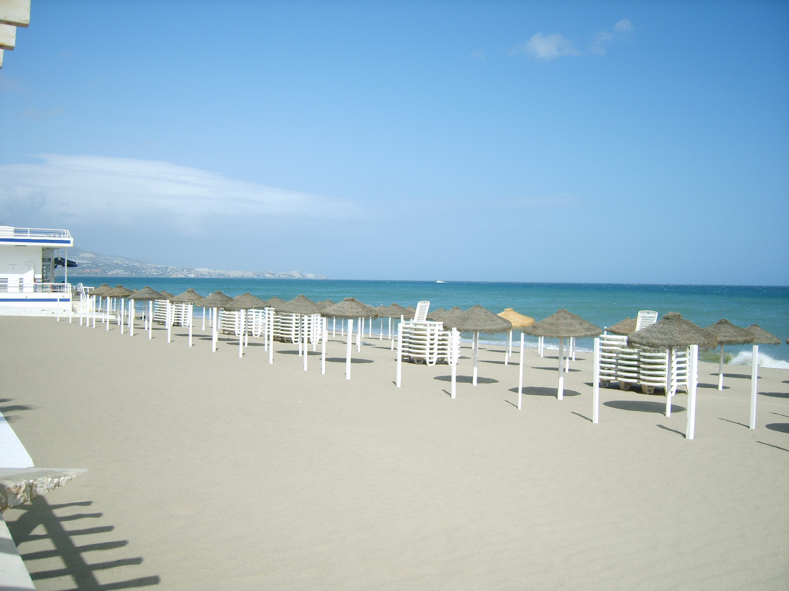 Fuengirola Spain  city pictures gallery : Description Fuengirola beach 3