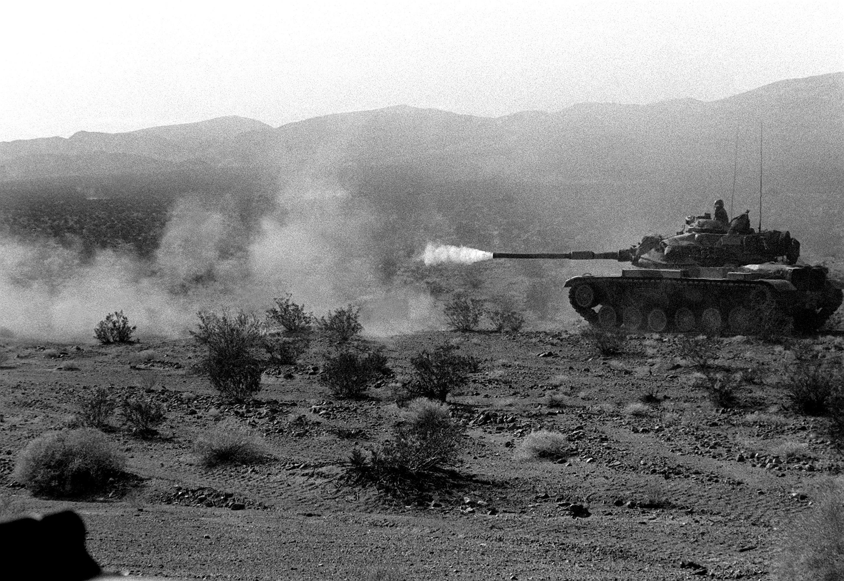 File Gallant Eagle 82 Firing M60 Tank Jpeg Wikimedia