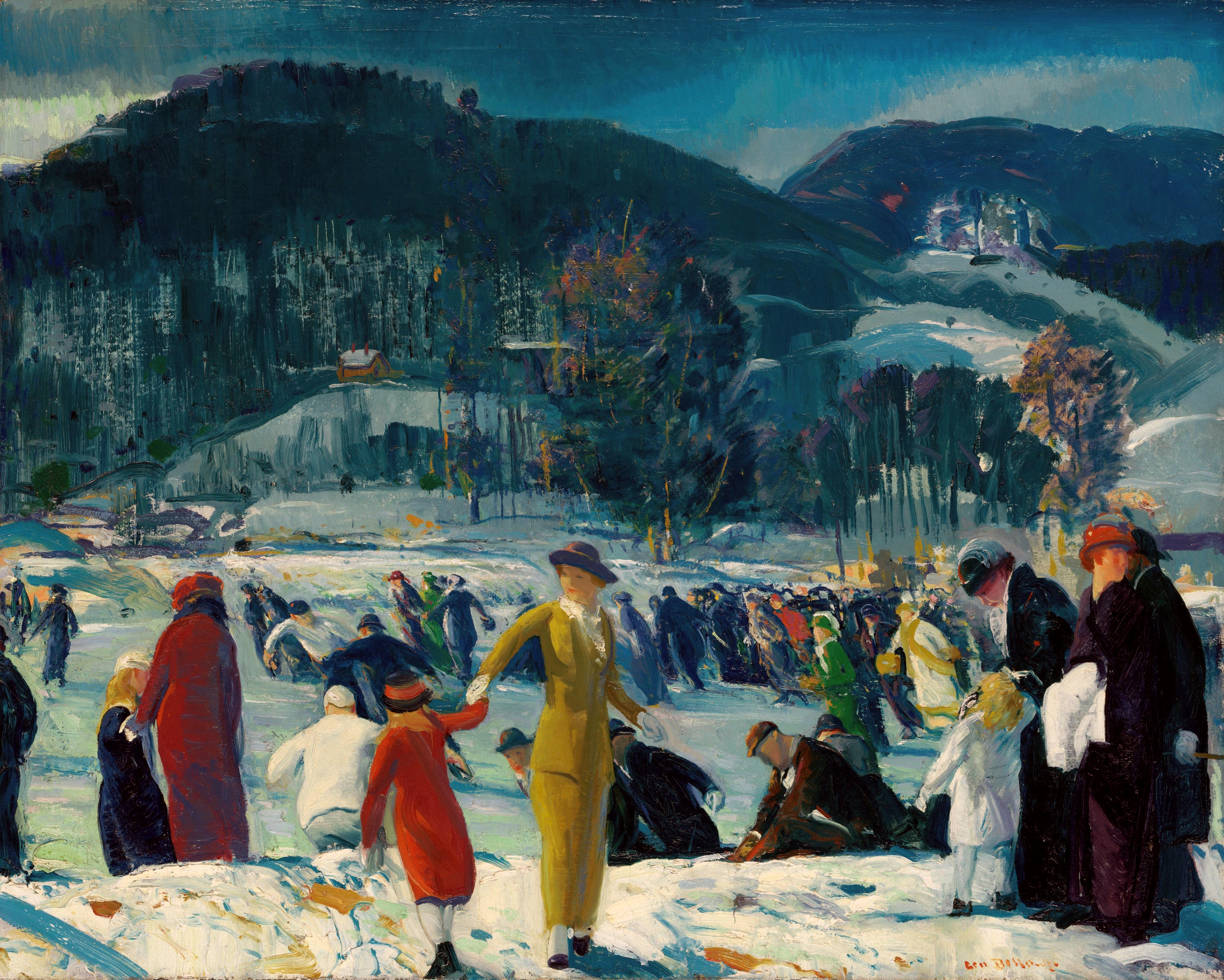 Dateigeorge Bellows Love Of Winter 1914jpg Wikipedia