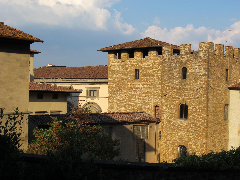 Giardino Bardini, veduta suPalazzo Mozzi, retro, Oltrarno, Firenze