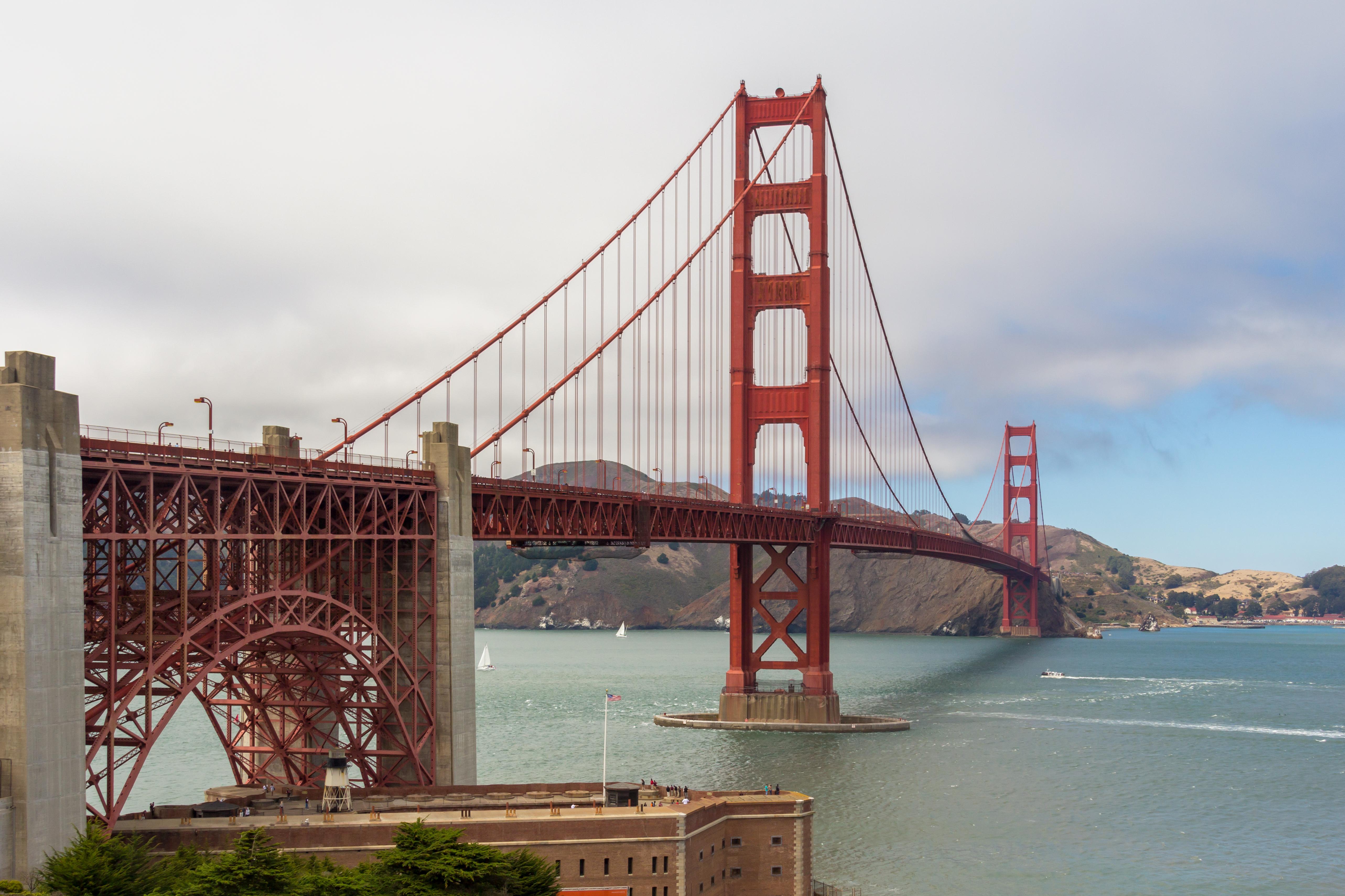 Golden Gate Bridge San Francisco California · Free Stock Photo