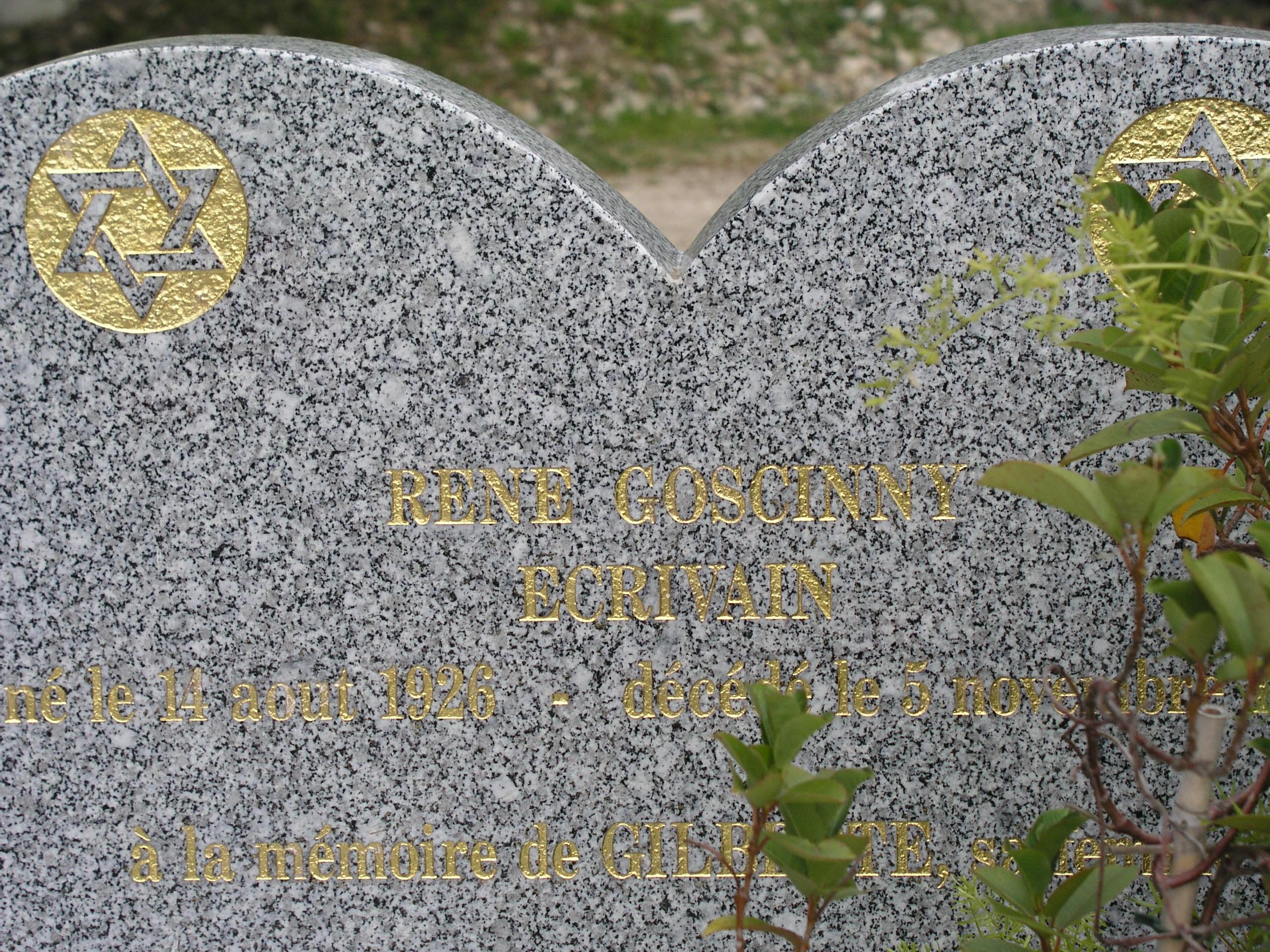 Grab von René Goscinny
