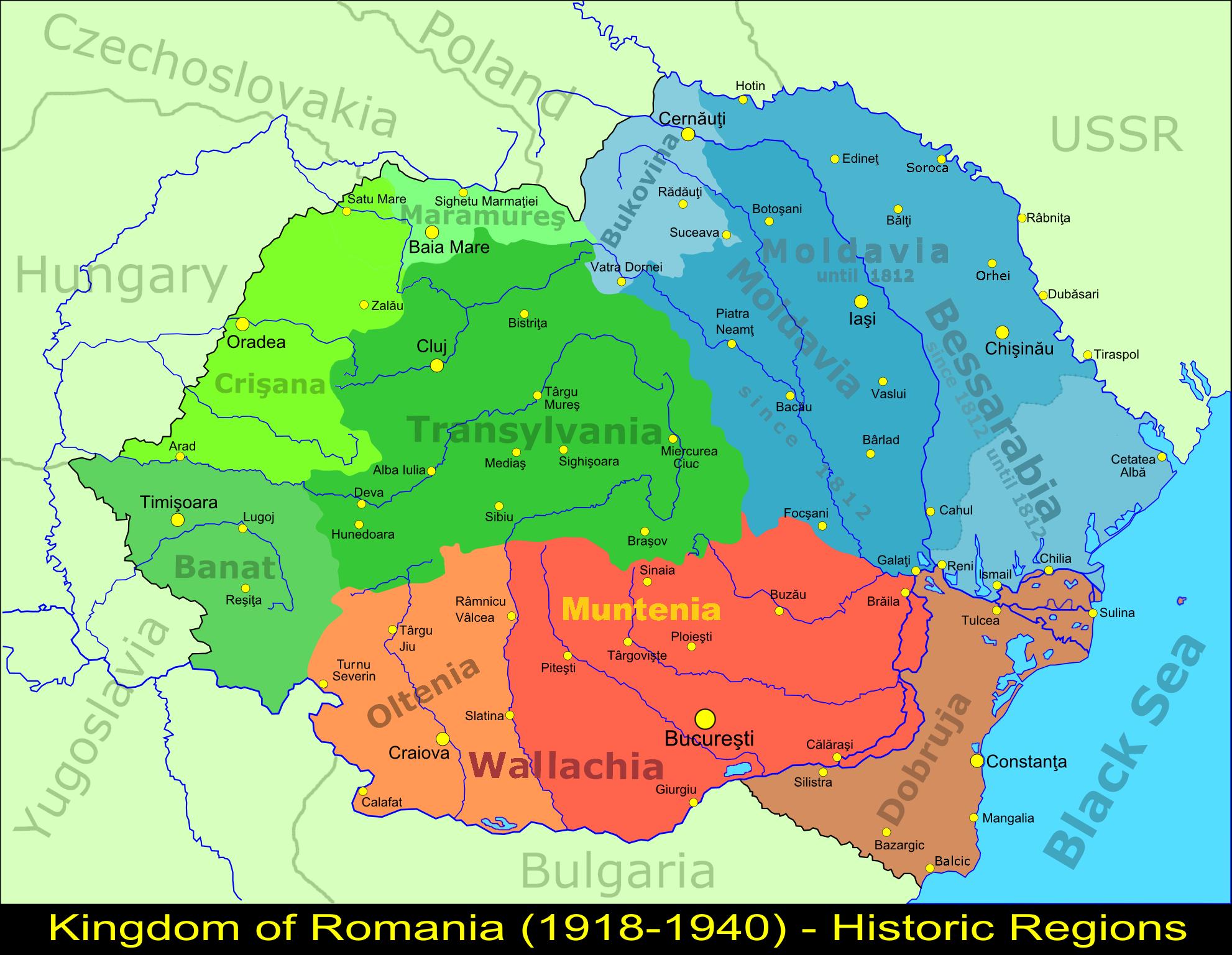Romania development path in 19th century