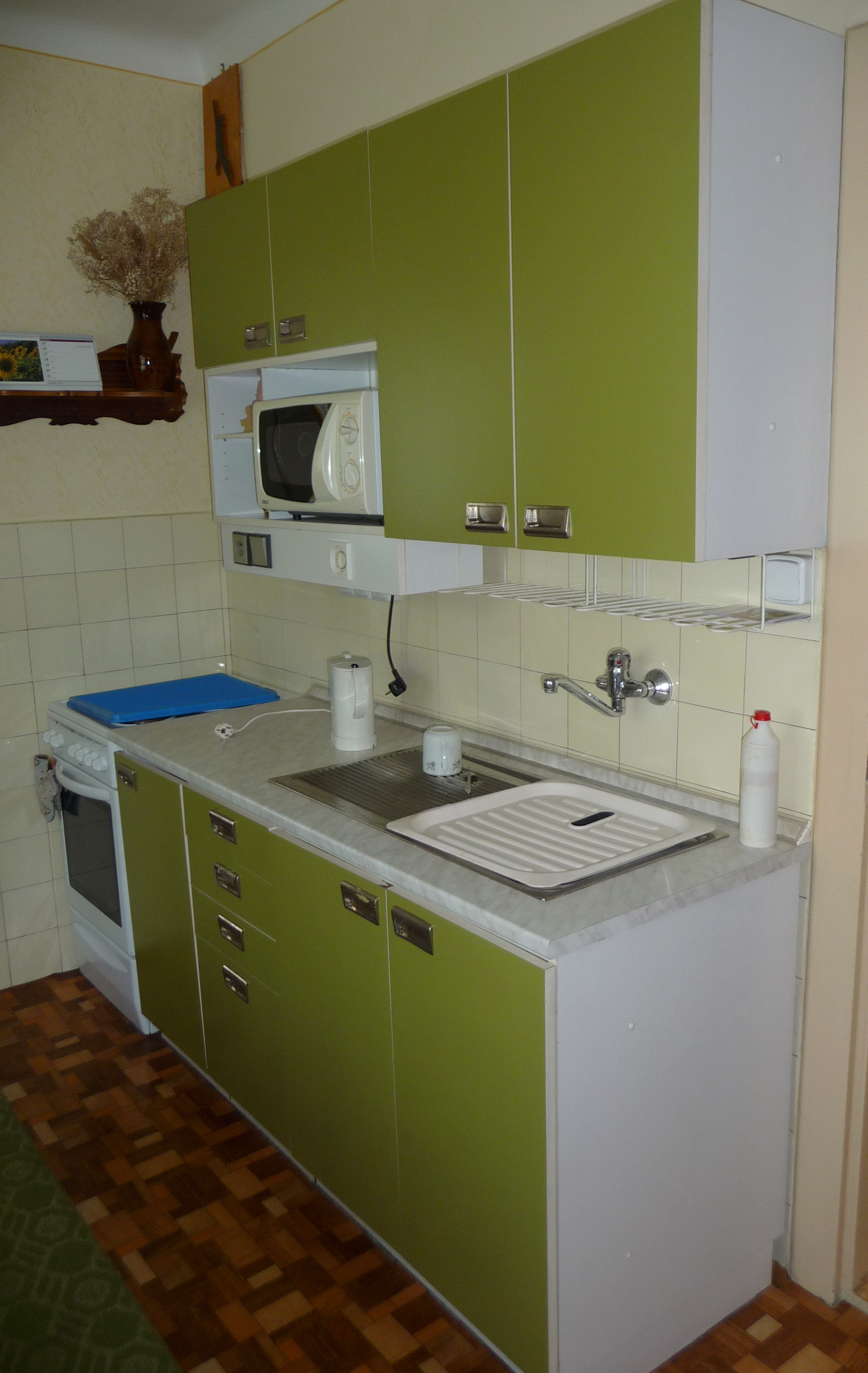 Kitchen design picture gallery in malaysia - File Green Kitchen Cabinet 2 Jpg Wikimedia Commons