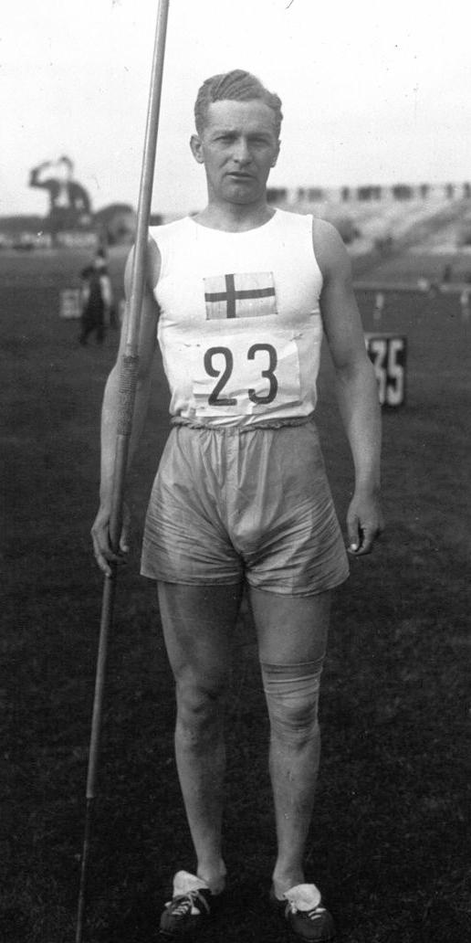 Gunnar Lindström in 1926