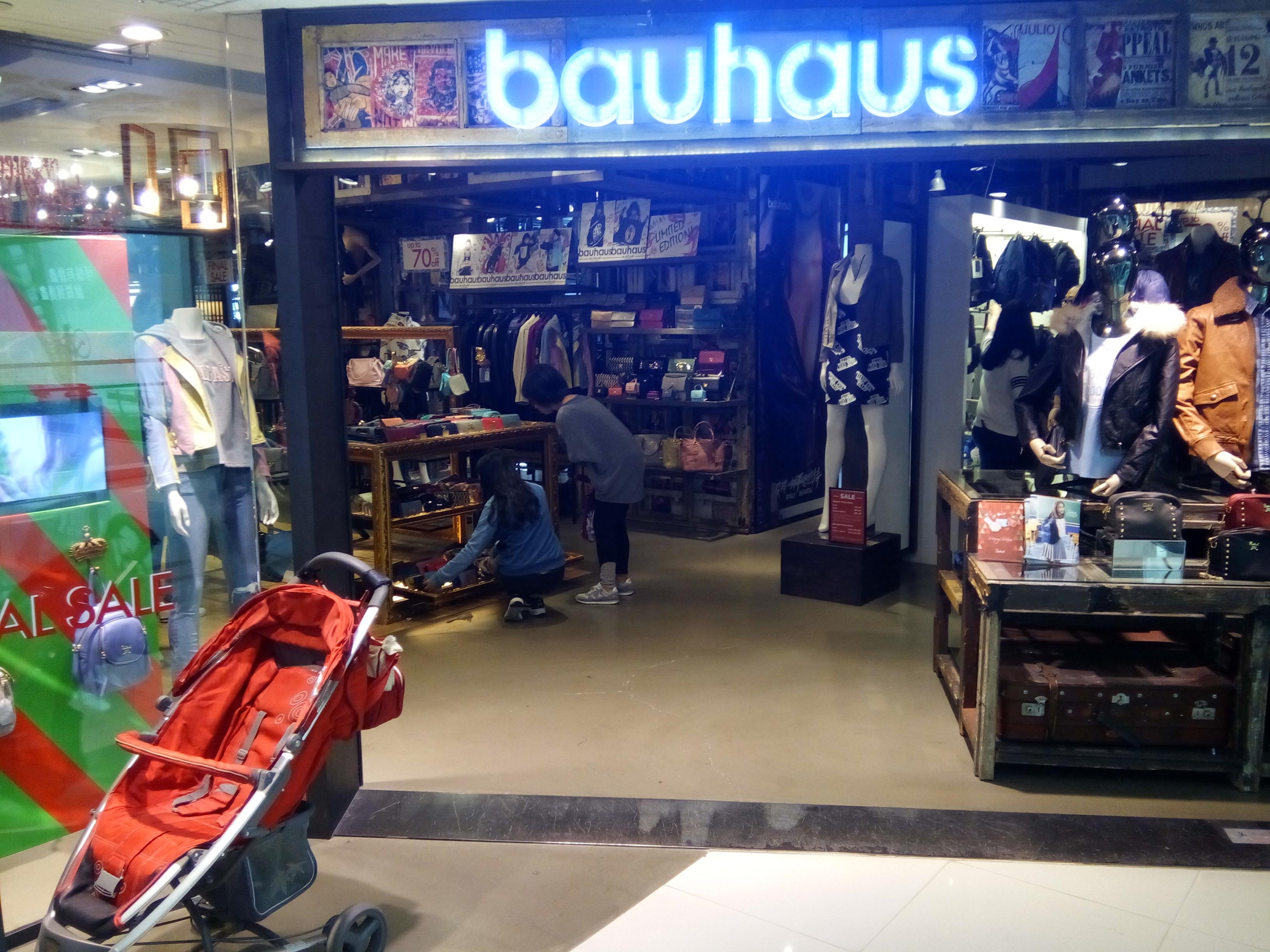 Filehk Sheung Shui 上水廣場 Landmark North Shop Bauhaus Clothing