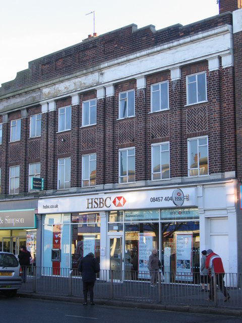 File:HSBC Bank Northfield  Sorting code 40-11-20 - geograph org uk