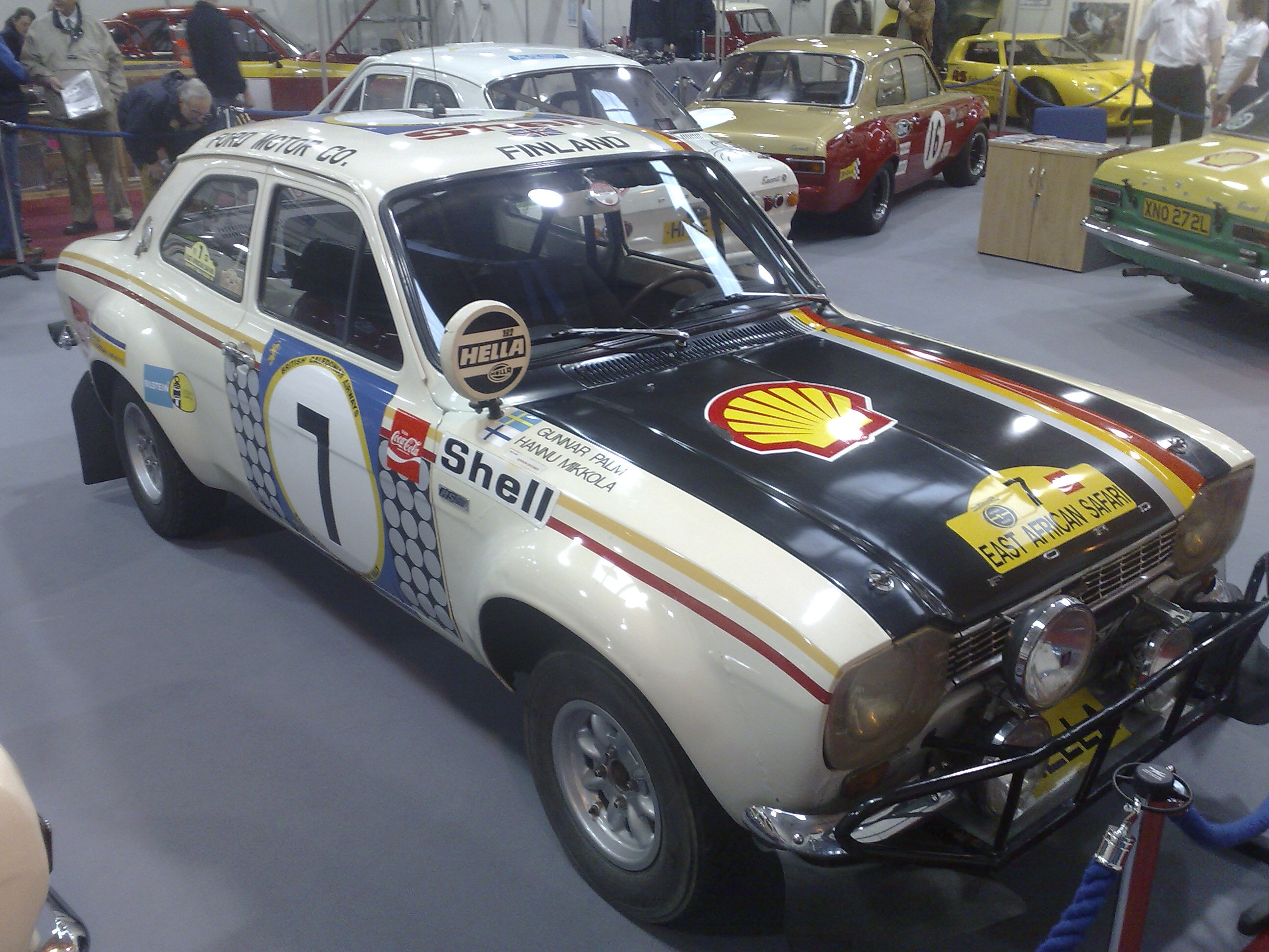File:Hannu Mikkola's Ford Escort RS1600, winner of the ...
