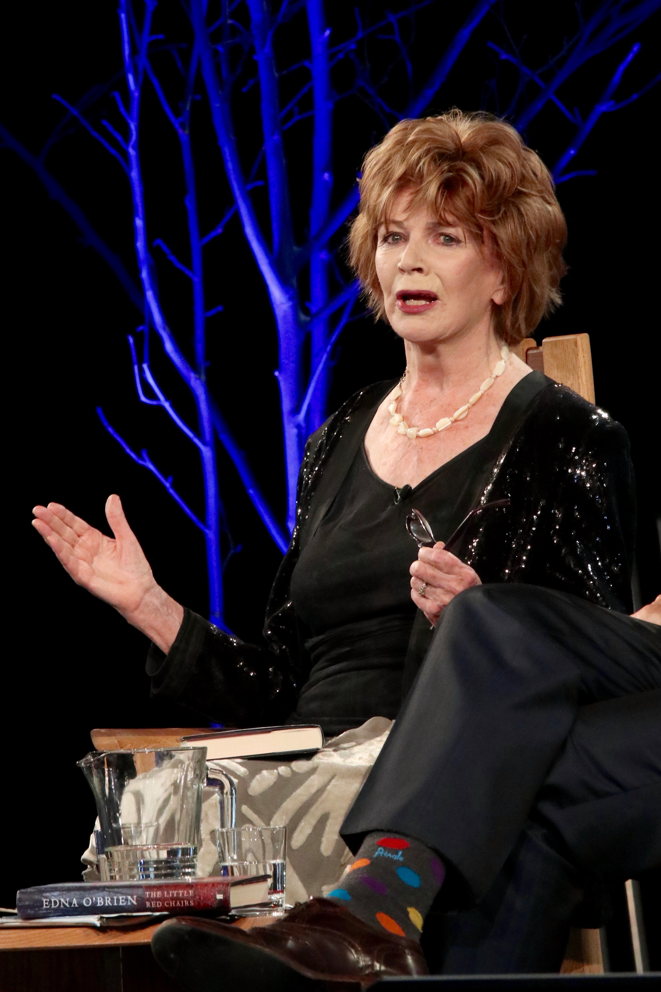 O'Brien at the 2016 [[Hay Festival]]