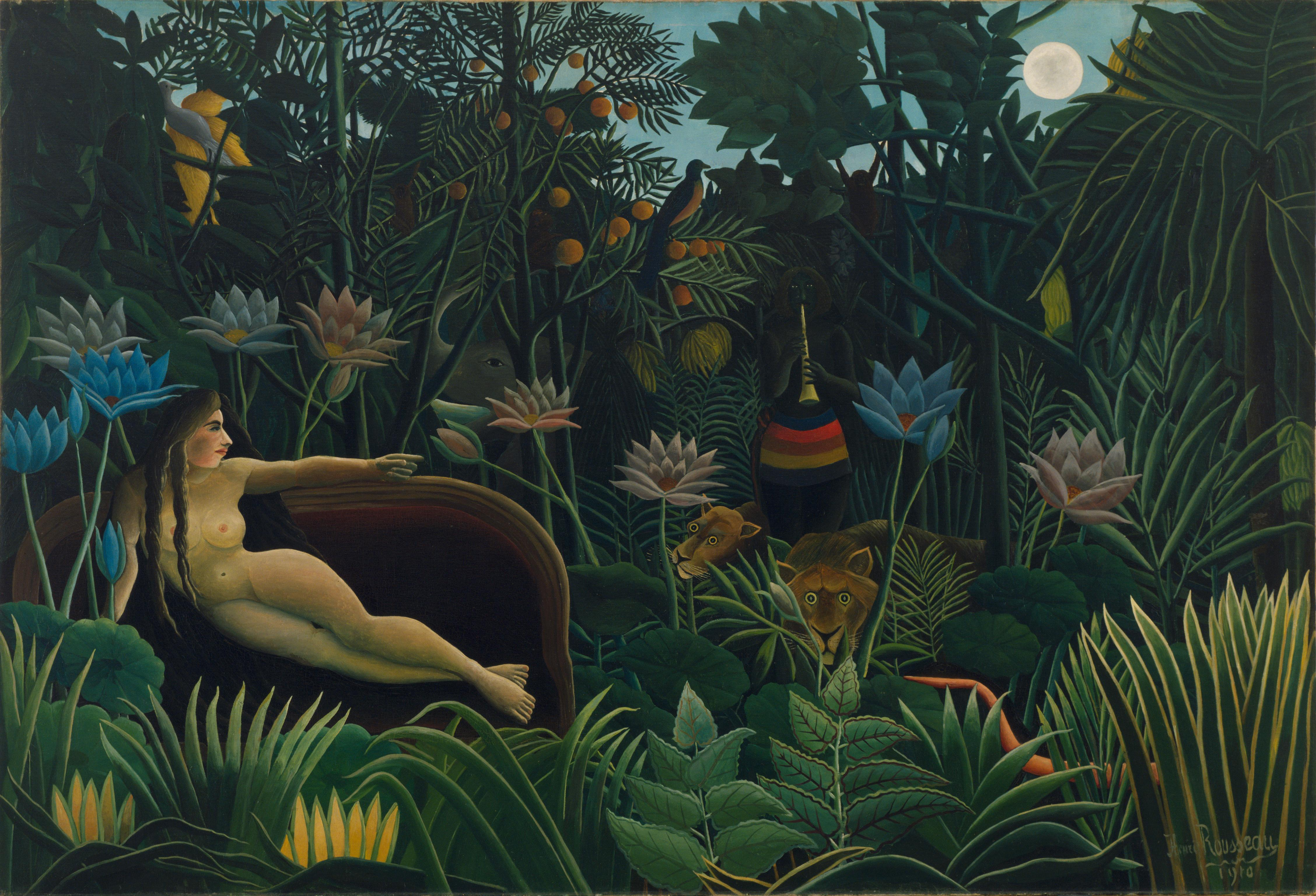 Henri Rousseau, The Dream (Le Rêve),