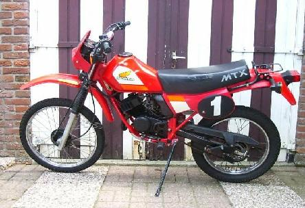 мотоцикл honda mtx 50