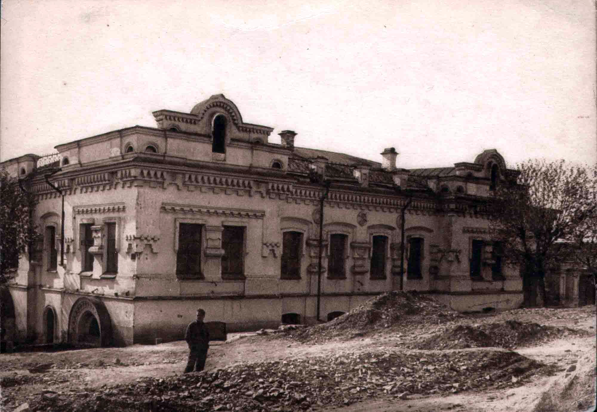 Ipatiev House in Yekaterinburg