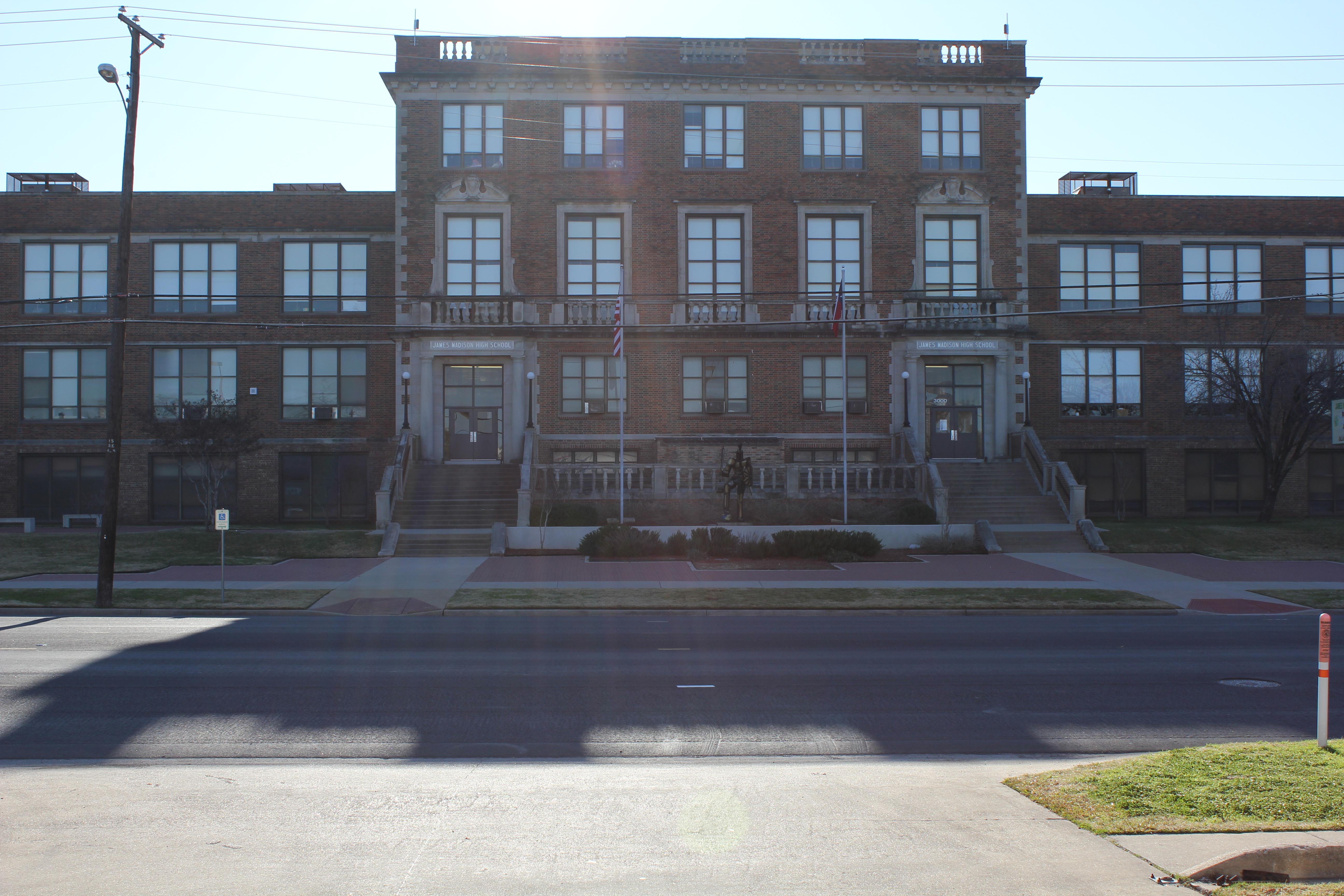 James Madison High School Dallas Wikipedia