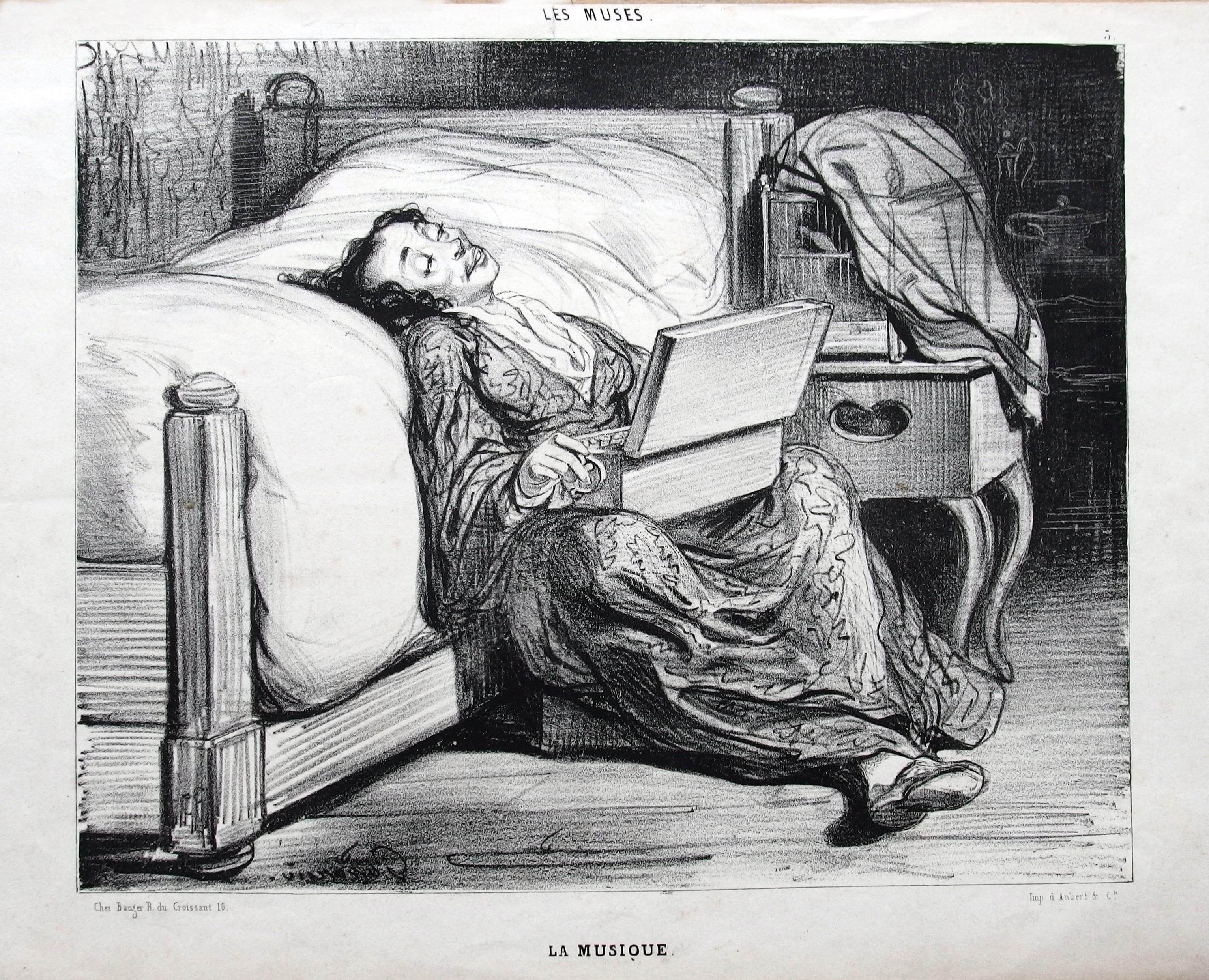 File:Les Muses, La Musique, de Paul Gavarni, Paris, 1839,