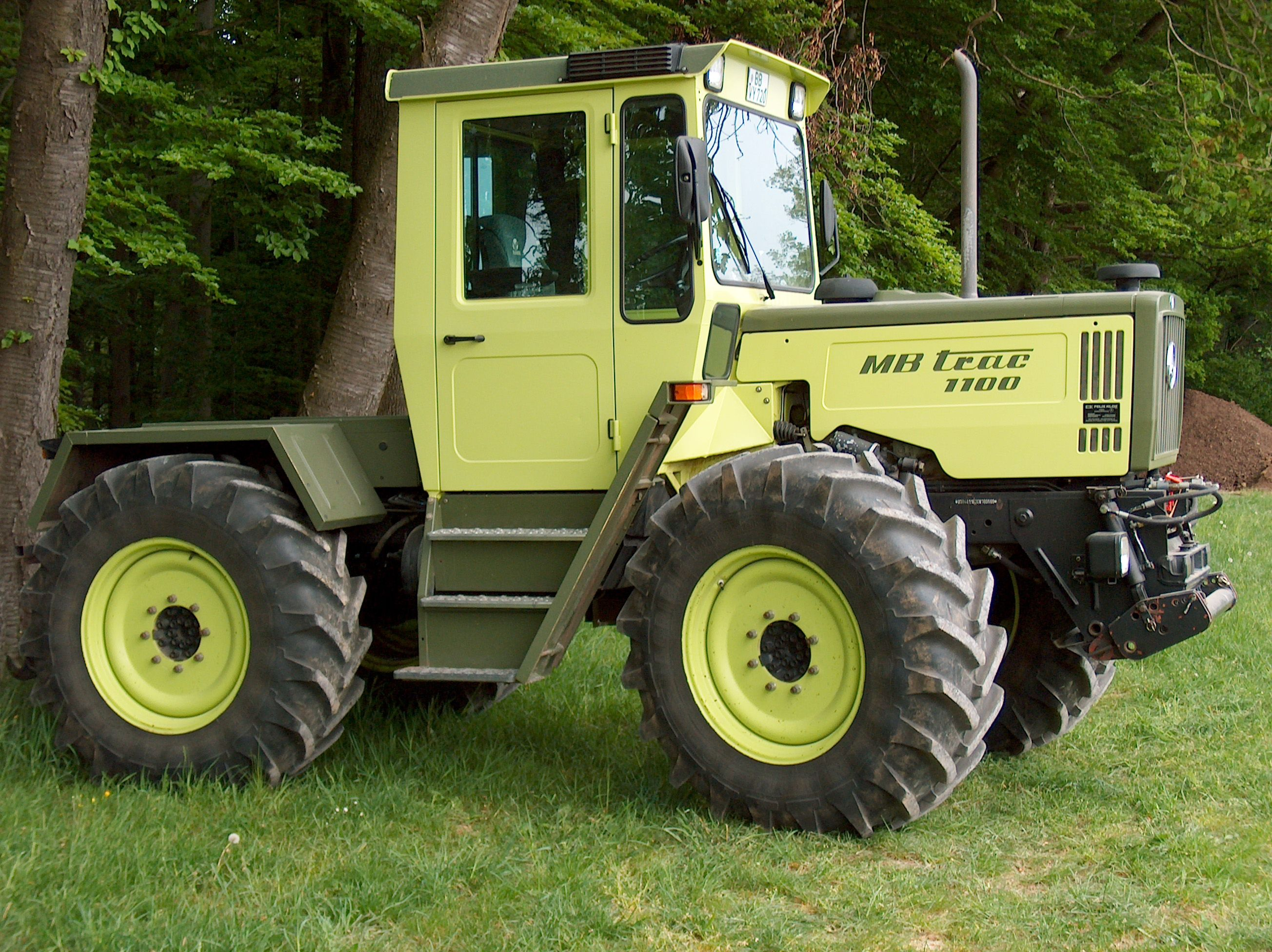 Any ideas for a build scale 4x4 r c forums for Mercedes benz tractors