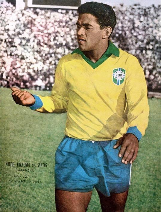Resultado de imagem para garrincha seleção brasileira