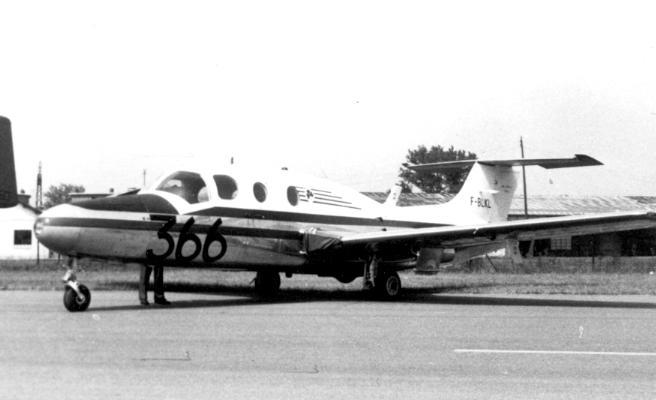 Morane-Saulnier MS.760 Paris