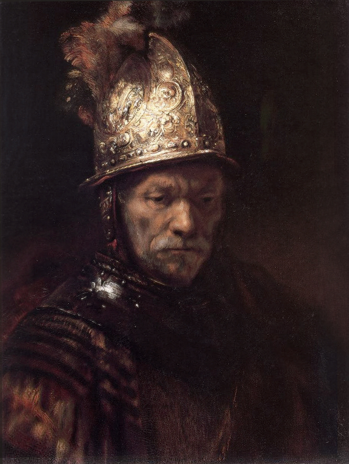 Rembrandt: The Man with the Golden Helmet