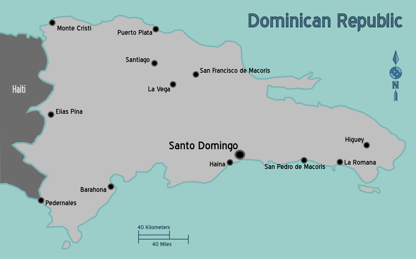 File:Map of Dominican Republic.png - Wikimedia Commons